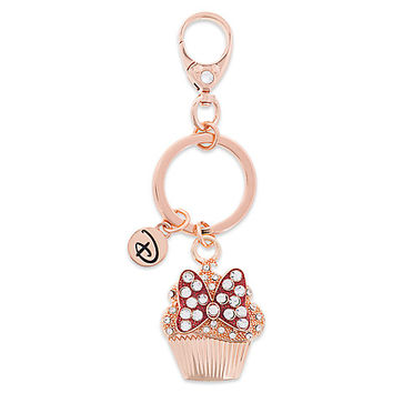 Minnie Mouse Bow Cupcake Keychain by Disney Boutique | Disney Store