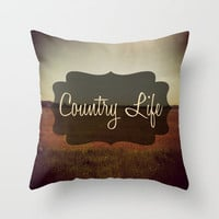 Country Life Throw Pillow by Josrick