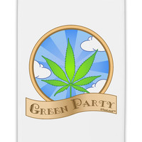 "Green Party Symbol Fridge Magnet 2""x3"