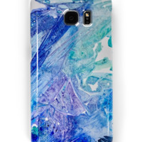 'Water Scarab Fossil Under the Ocean, Environmental' Samsung Galaxy Case/Skin by ANoelleJay