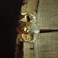 Cats Brooch #5135
