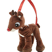 Accessory Innovations Rudolph The Red-Nosed Reindeer Plush Christmas H