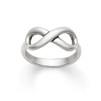 James Avery Infinity Ring - Silver 8