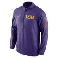 Nike College Hybrid Half-Zip (LSU) Men's Training Jacket