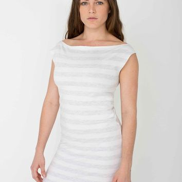 2386st - Fine Jersey Stripe T Dress
