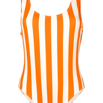 Solid & Striped Striped Swimsuit - Farfetch