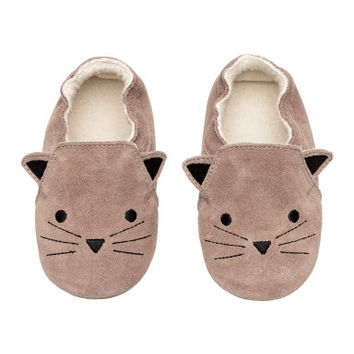 H&M Suede Slippers $24.99