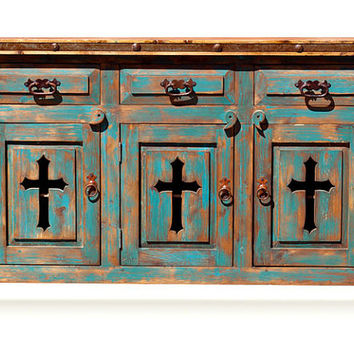 Rustic Dresser - Hand Crafted Rustic Furniture