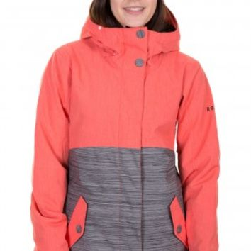 Roxy Fast Times Snowboard Jacket women (hot coral) buy at skatedeluxe