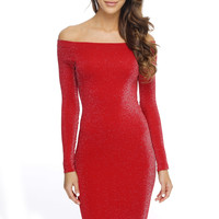 Nicole Party Dress - Red