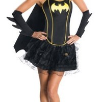DC Comics Secret Wishes Batgirl Corset And Tutu Costume