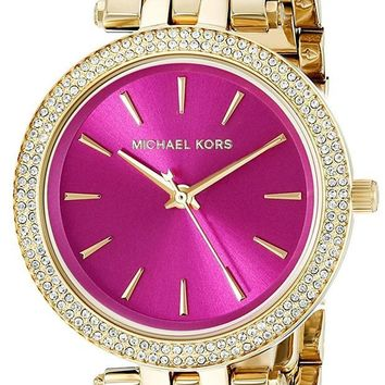 DCCKWA2 Michael Kors Women's Goldtone Mini Darci Watch