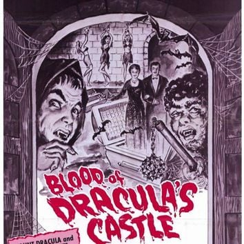 Blood of Dracula's Castle 11x17 Movie Poster (1969)