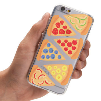 Fruit Pizza Slices - Super Slim - Printed Case for iPhone - S030
