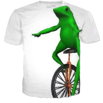 Frog Unicycle Tee