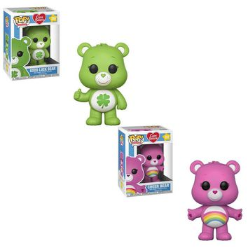 Funko Pop Animation: Care Cheer Bear (Styles May Vary) Collectible Figure, Multicolor