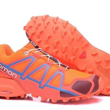 Salomon Women's Speed Cross 4 Trail Running Shoe Orange US5-9.5