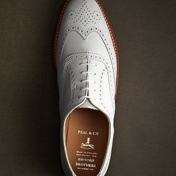 The Great Gatsby Collection White Buck Wingtip