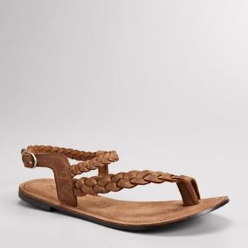 FOSSIL?- Shoes Sandals:Womens Alice Braided Toe Thong FFW0100