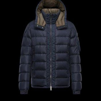 ONETOW Moncler Arcs Jacket Mens Dark Blue