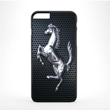 Ferrari Steel Logo Iphone 6 Plus | 6s Plus Case