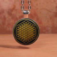 Bring Me The Horizon Sempiternal Glass Art Pendant Necklace