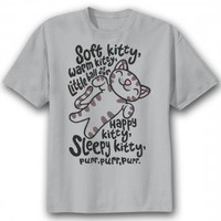 "The Big Bang Theory T-Shirt | The Big Bang Theory T-Shirt, ""Soft Kitty"", TV Show T-Shirt 