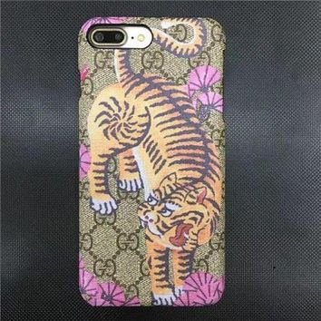 Perfect GUCCI Fashion Animal Print iPhone Phone Cover Case For iphone 6 6s 6plus 6s-plus 7 7plus