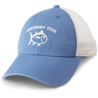 Southern Tide Washed Trucker Hat - Tsunami Grey