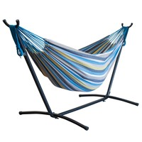 Two-Person Portable Hammock with Steel Stand (Sunshine Paradise)