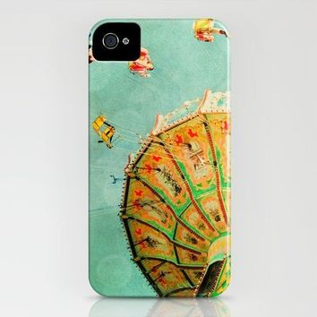 You Spin Me Right Round Carnival Swing iPhone Case by bomobob | Society6