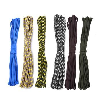 Outdoor Paracord Rope Multifunction 7 Core Strand Lanyard 4MM Guy Line Camping Equipment Emergency Survival Parachute Cord