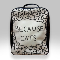 Backpack for Student - Because Cats Bags