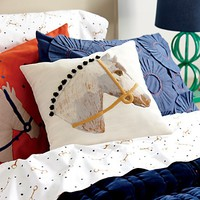 Equestrian Themed Kids Bedding | The Land of Nod