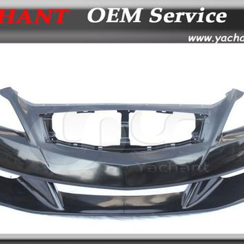 FRP Fiber Glass Car Front Bumper Fit For 2008-2013 G25 G35 G37 G Series Coupe LB Stage Style Front Bumper with Lip