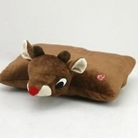 Rudolph the Red-Nosed Reindeer Folding Pillow