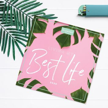 Living Leaves Best Life Large Monthly Planner