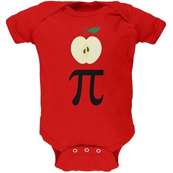 Halloween Math Pi Costume Apple Day Soft Baby One Piece