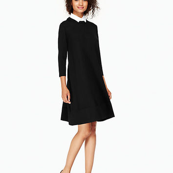 collared sweater dress