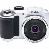 16-Megapixel PIXPRO AZ251 Digital Camera w/ 25x Zoom - White - Kmart