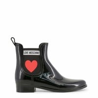 Love Moschino Women Black Ankle boots