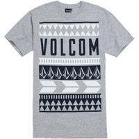 Volcom Vative T-Shirt - Mens Tee - Grey