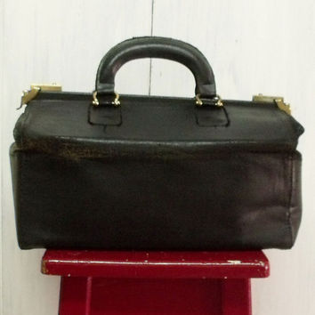 Vintage Doctor medical handbag case