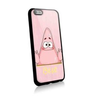 Cute Patrickbest Friends for Best Iphone and Samsung Galaxy Case (iphone 6 plus black)