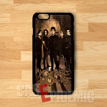 retro poster MCR-1n1 for iPhone 6S case, iPhone 5s case, iPhone 6 case, iPhone 4S, Samsung S6 Edge