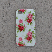 Solid Floral Case - iPhone 5