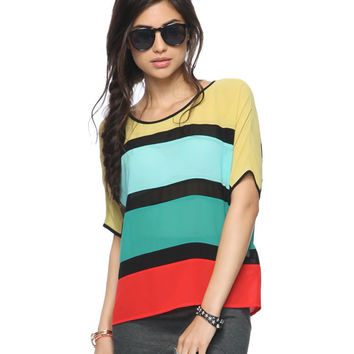 Bold Colorblock Top | FOREVER21 - 2014500011