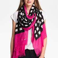 kate spade new york 'pop art' scarf | Nordstrom