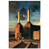 Pink Floyd Animals Album Cover Music Poster