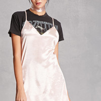 Reverse Choker Slip Dress